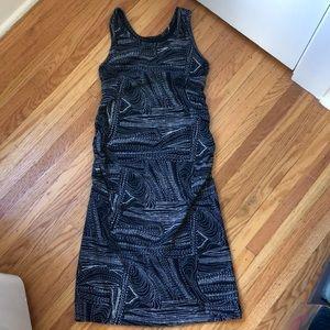 Liz Lange/Target Maternity Ruched Dress, XS